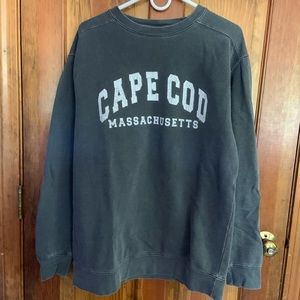 Gray Cape Cod crew neck